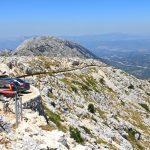 Samochodem na szczyt Sv. Jure
