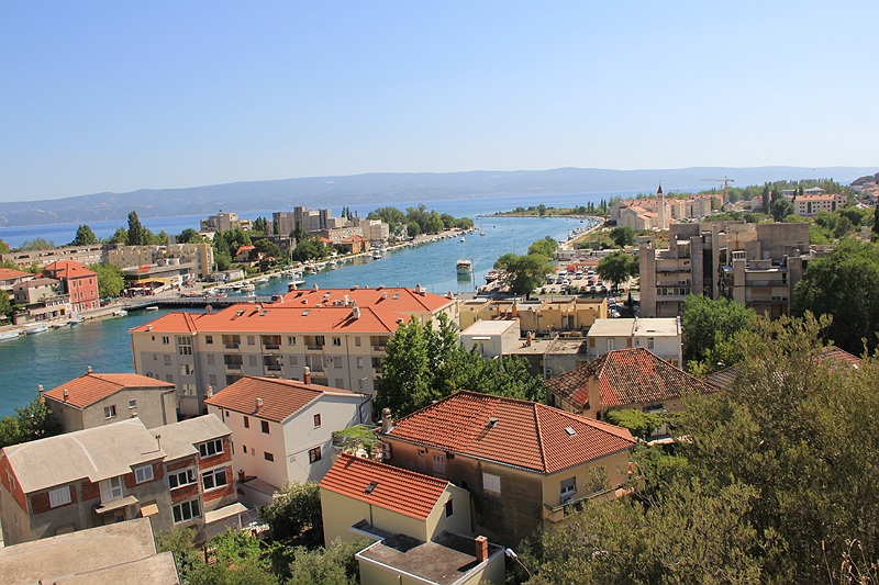 Twierdza Mirabella - panorama Omisa
