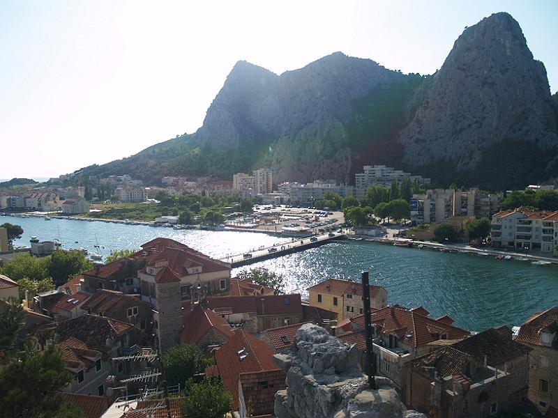 Twierdza Mirabella - rzeka Cetina