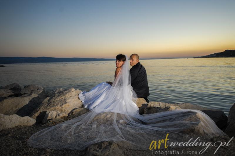 Plener Ślubny w Chorwacji - Omiš