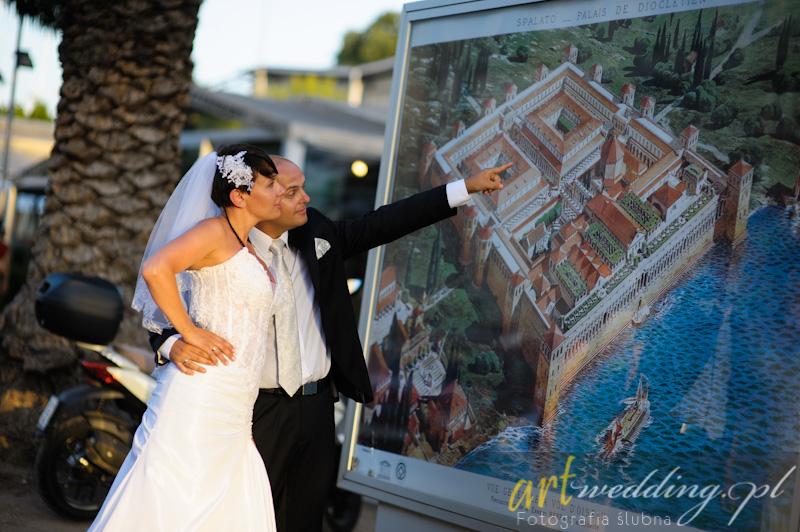 Plener Ślubny w Chorwacji - Split
