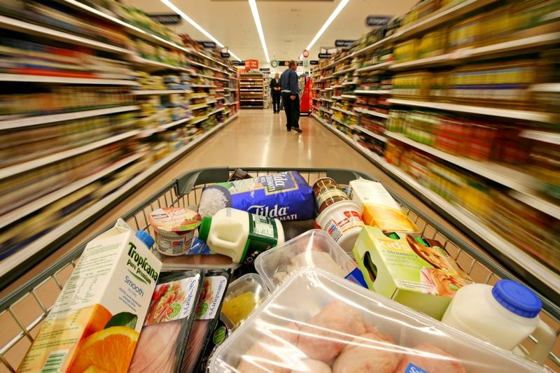 eny produktów spożywczych w Chorwacji