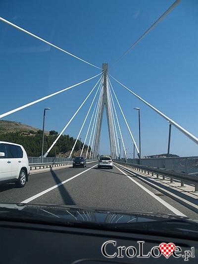 Most Franjego Tuđmana w przed centrum Dubrownika