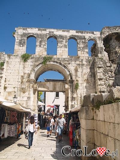 Pozostałości po Pałacu Dioklecjana