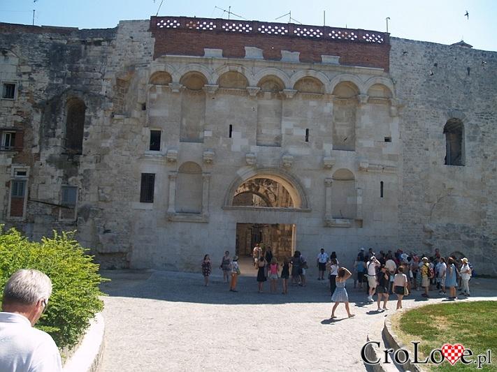 Złota Brama (Zlatna Vrata) Pałacu Dioklecjana