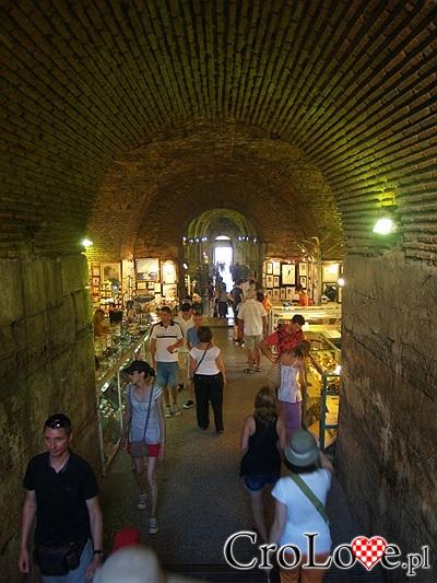 Brązowa Brama (Medjena Vrata) Pałacu Dioklecjana