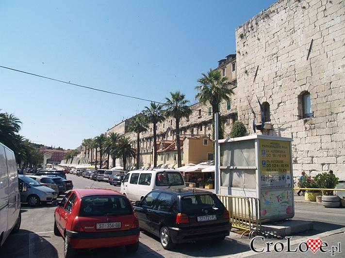 Mury Pałacu Dioklecjana w Splicie