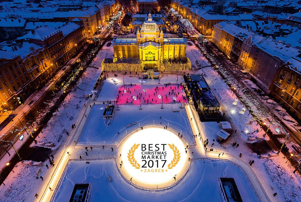 Zagrzeb - najlepszy świąteczny jarmark 2017 i 2017 (fot. europeanbestdestinations.com)