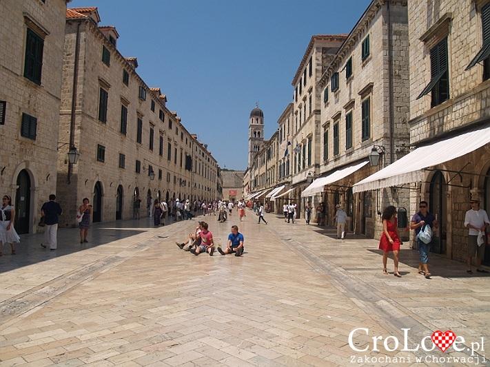 Stradun - główna ulica Starego Miasta