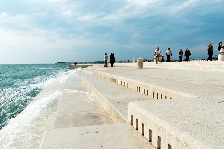 Morskie organy w Zadarze