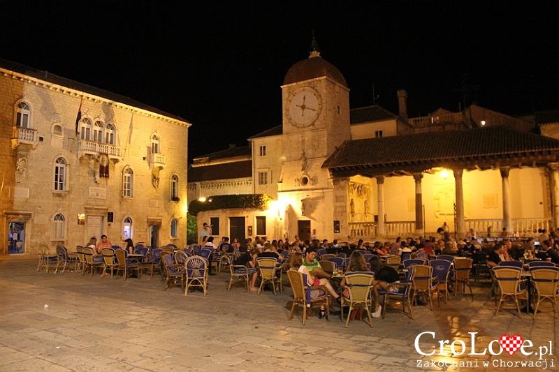 Loggia miejska oraz wieża zegarowa w Trogirze