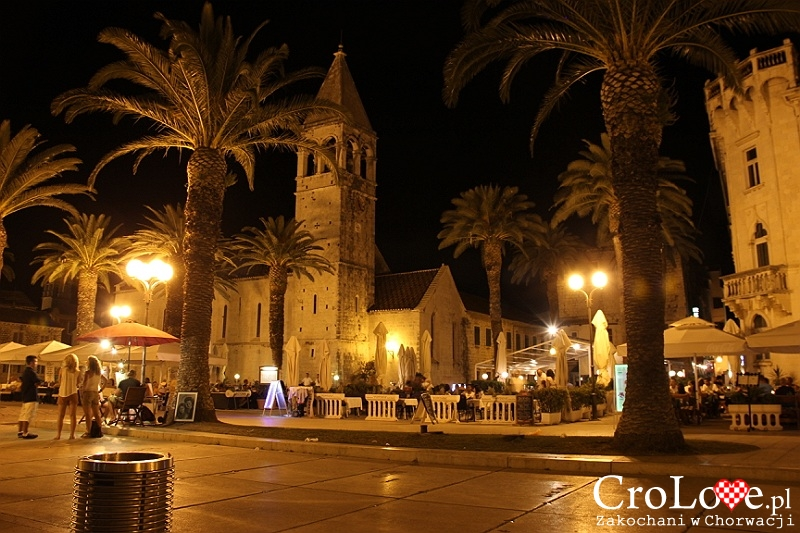 Promenada w Trogirze