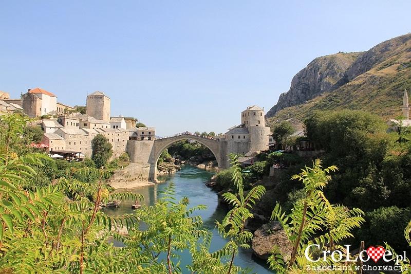 Widok na Kamienny Most w Mostarze