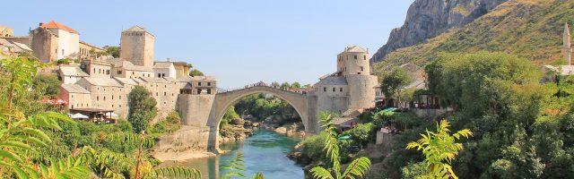 Mostar wielokulturowe miasto w Bośni i Hercegowinie