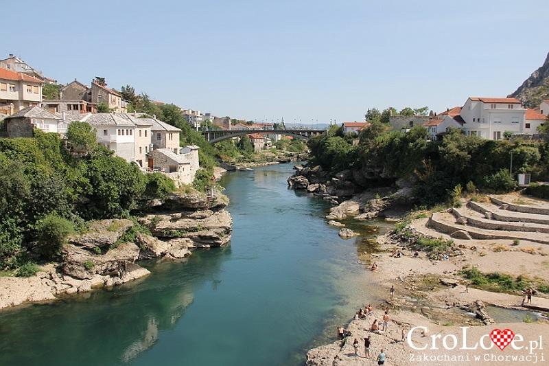 Rzeka Neretwa w Mostarze