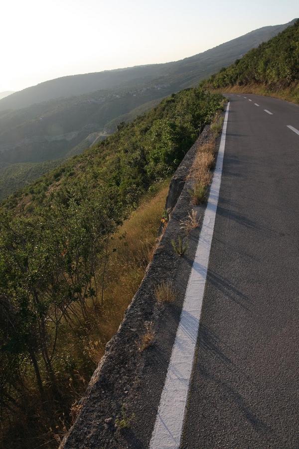 Droga na wyspie Hvar