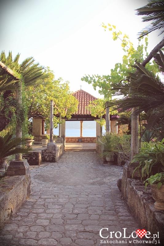 Pawilon w Arboretum Trsteno