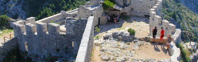 Twierdza Starigrad Fortica w Omišu