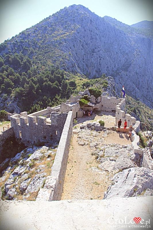 Twierdza Starigrad (Fortica) w Omišu