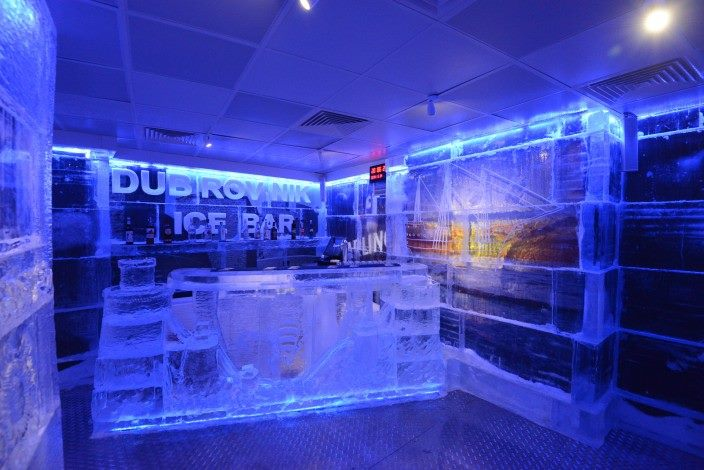 Onofrio Ice Bar w Dubrowniku (fot. facebook.com/pages/Onofrio-Ice-Bar-Dubrovnik/305807552913394)