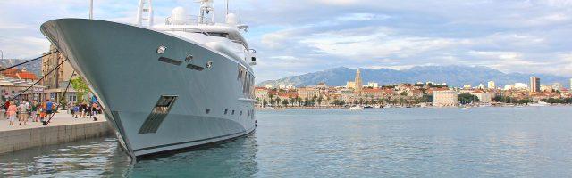 Jachty w Chorwacji