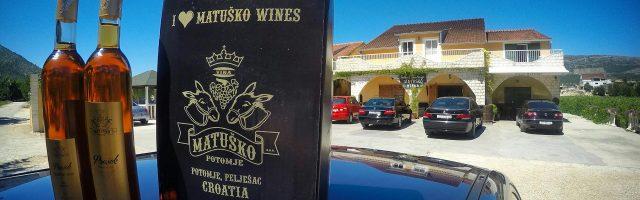 Winiarnia Matuško w Potomje na półwyspie Pelješac