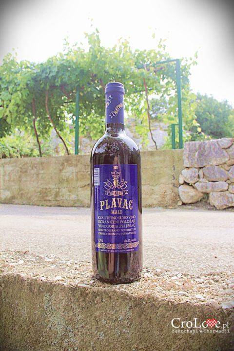 Wino Plavac Mali