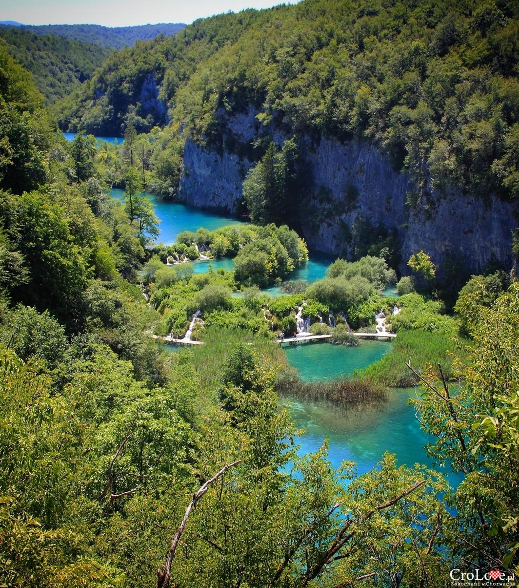 Park Narodowy Jezior Plitwickich wpisany na listę światowego dziedzictwa UNESCO