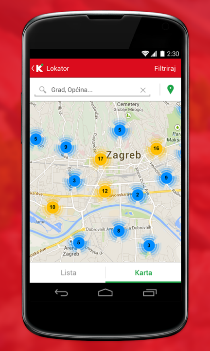 Konzum Mobile Application