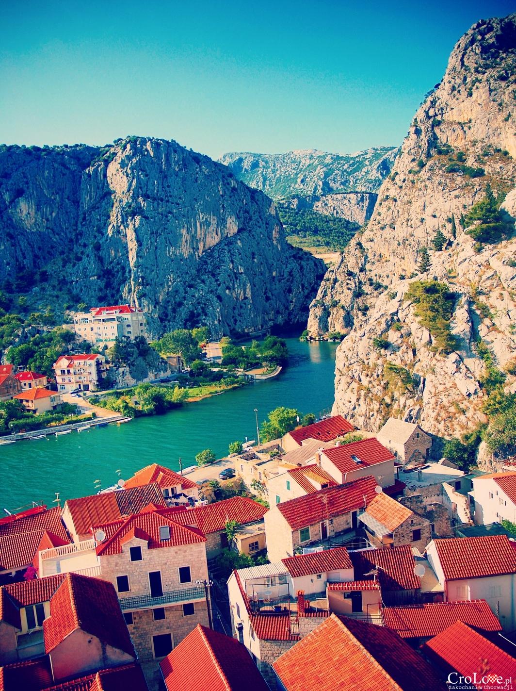 Rzeka Cetina w Omišu