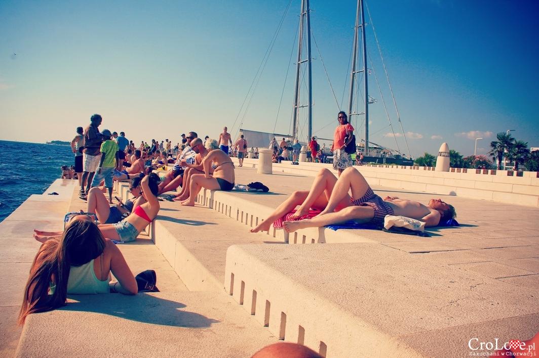 Promenada w Zadarze