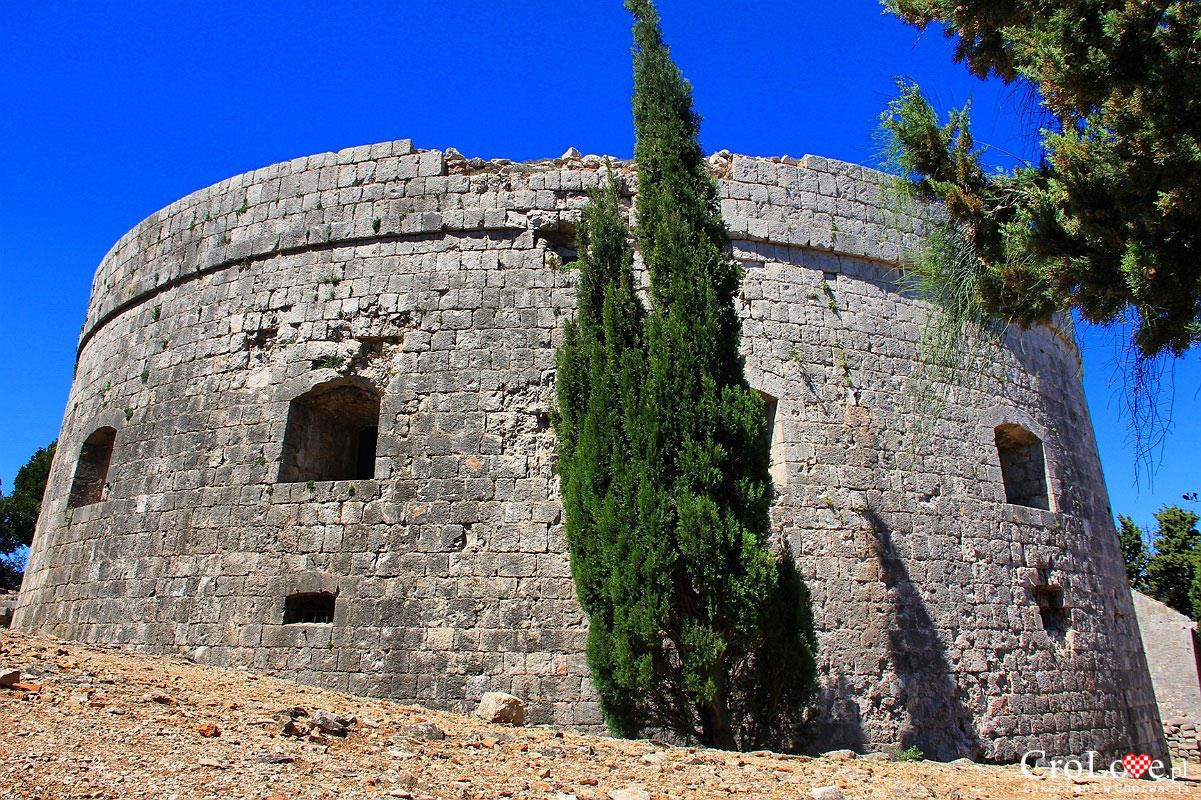 Fort Royal na wyspie Lokrum