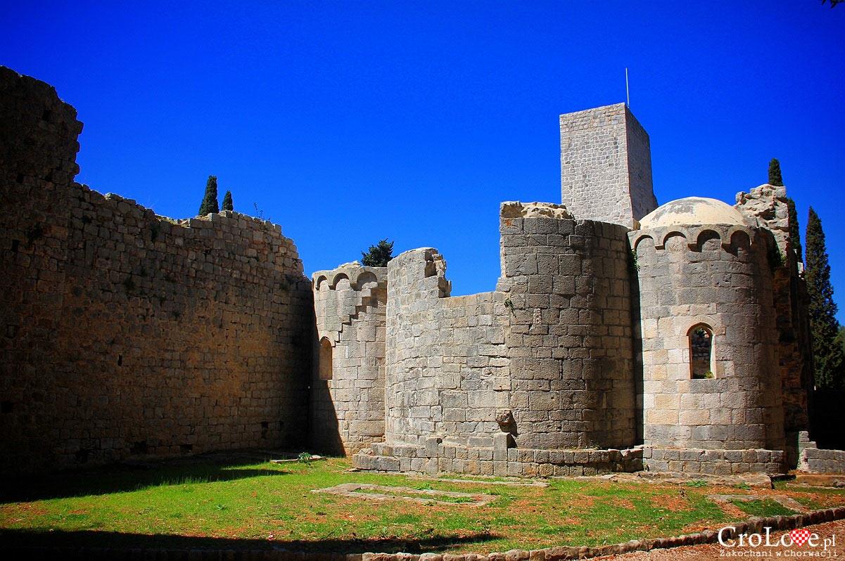 Ruiny klasztoru Benedyktynów na wyspie Lokrum