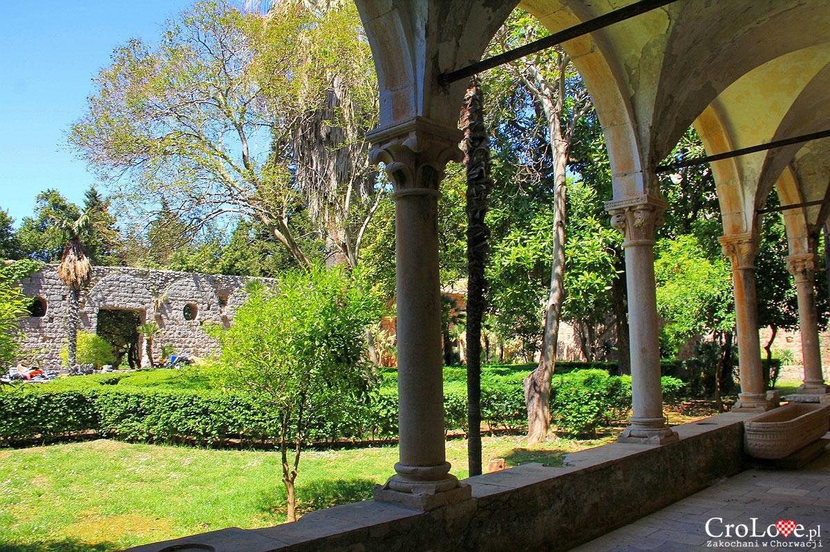 Ogród przy klasztorze Benedyktynów na wyspie Lokrum
