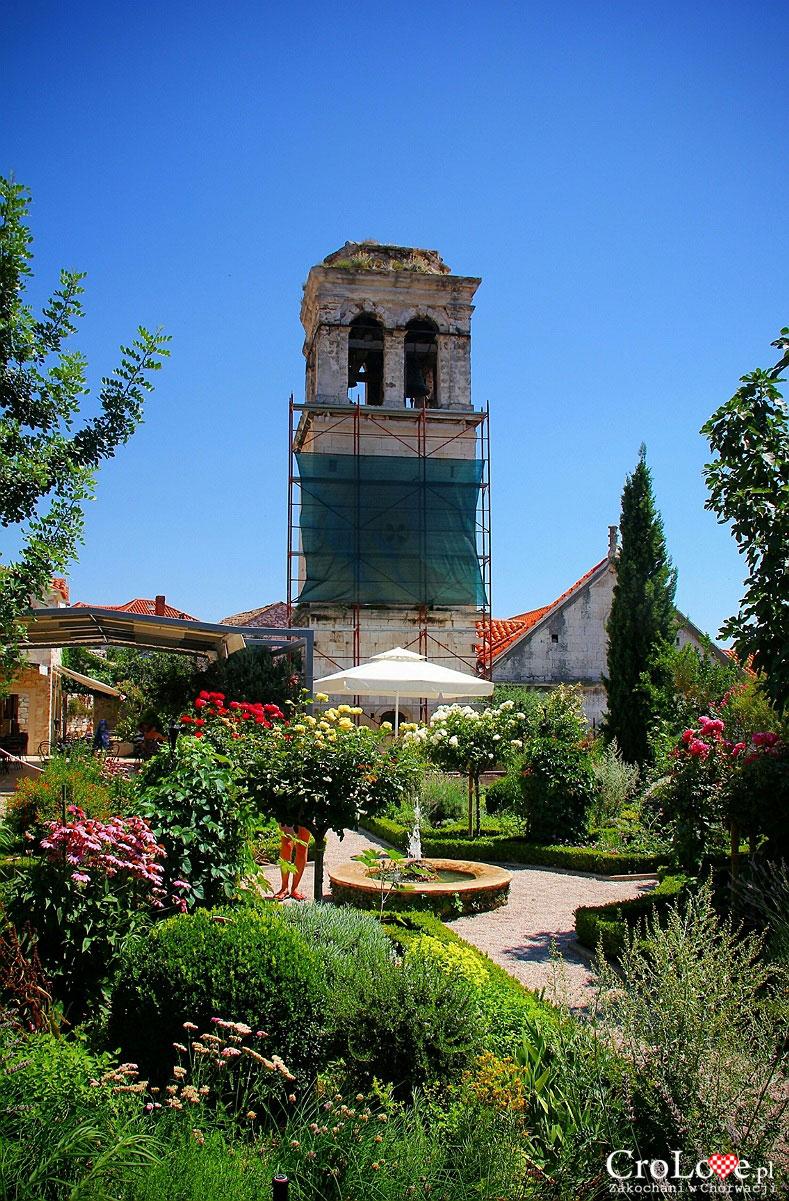 Ogród przy franciszkańskim klasztorze św Wawrzyńca w Šibeniku