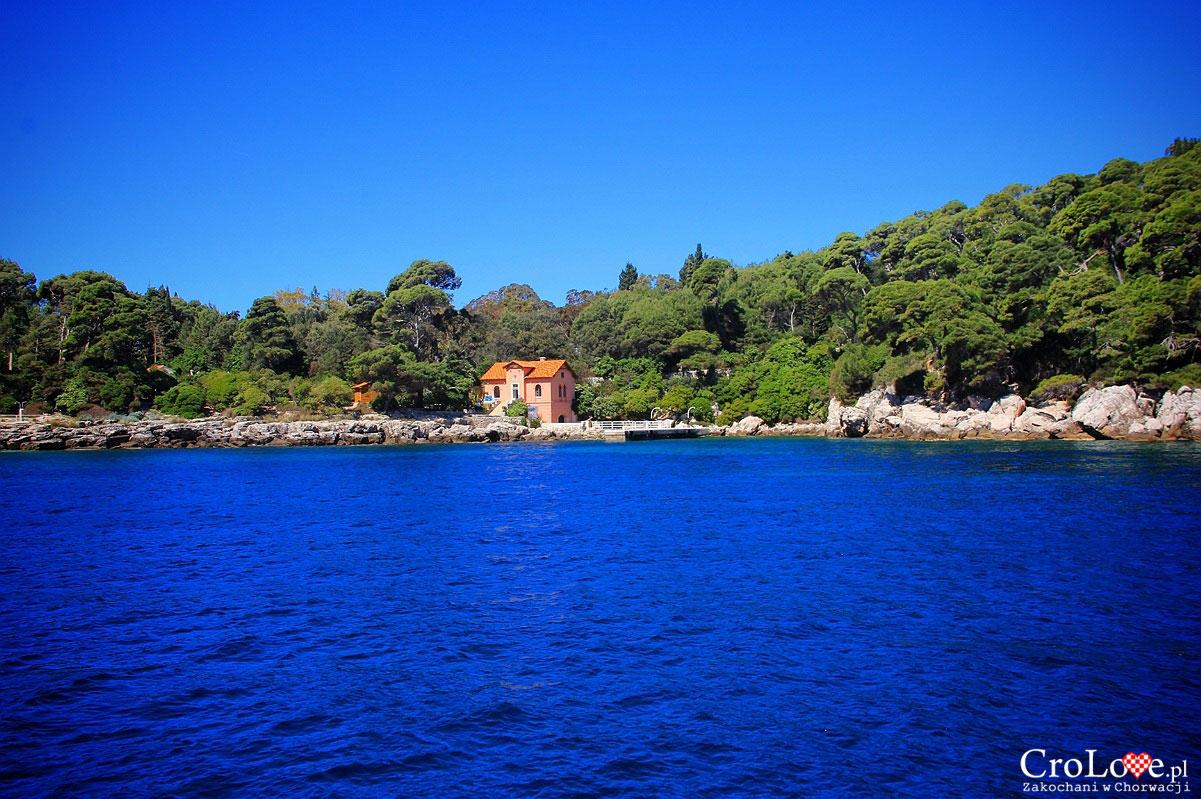 Port na wyspie Lokrum