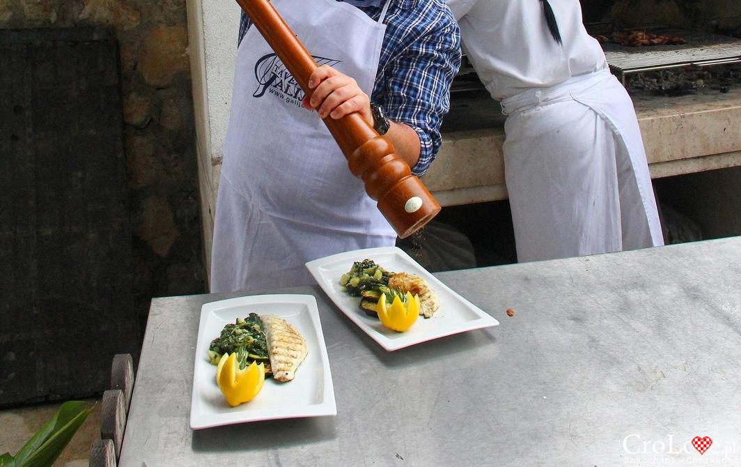 Przygotowanie dania głównego