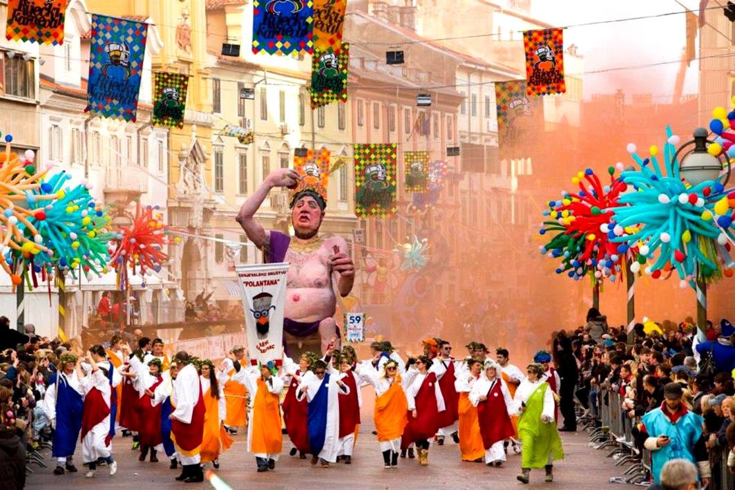 Karnawał w Rijece, jeden z największych karnawałów w Europie (fot. rijecki-karneval.hr)