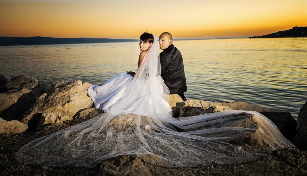 Plener ślubny w Omišu
