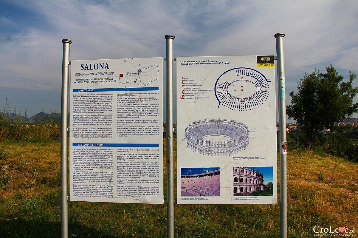 Plan amfiteatru w Salonie