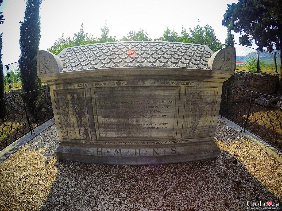 Grobowiec Frane Bulica obok Manastirine w Salonie