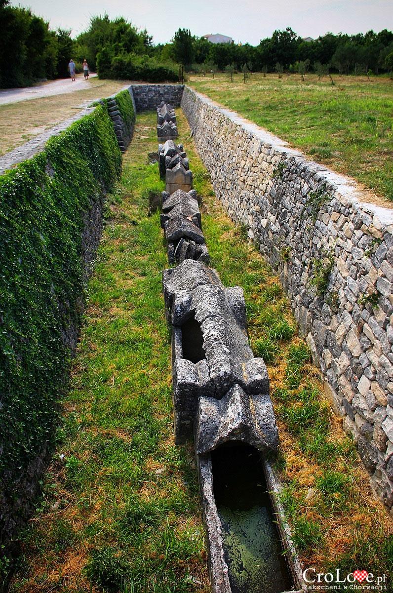 Grobowce na terenie Kapluć w Salonie