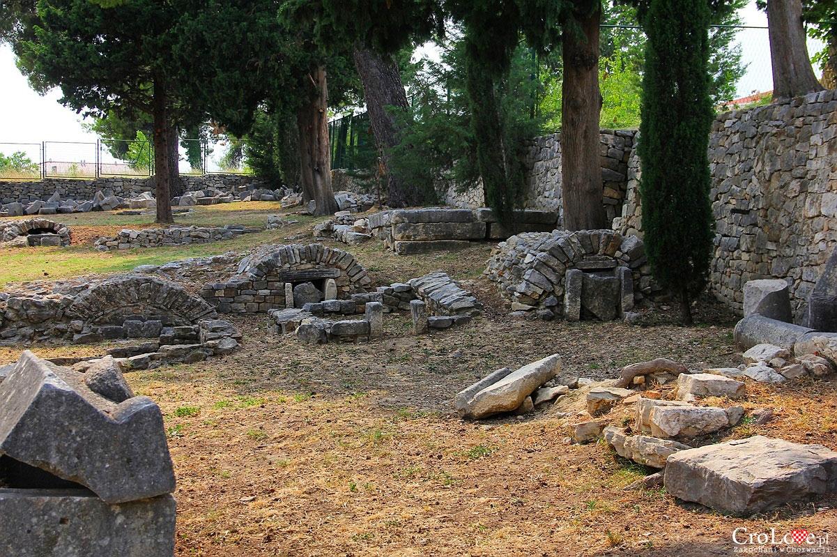 Krypty w Manastirine w Salonie