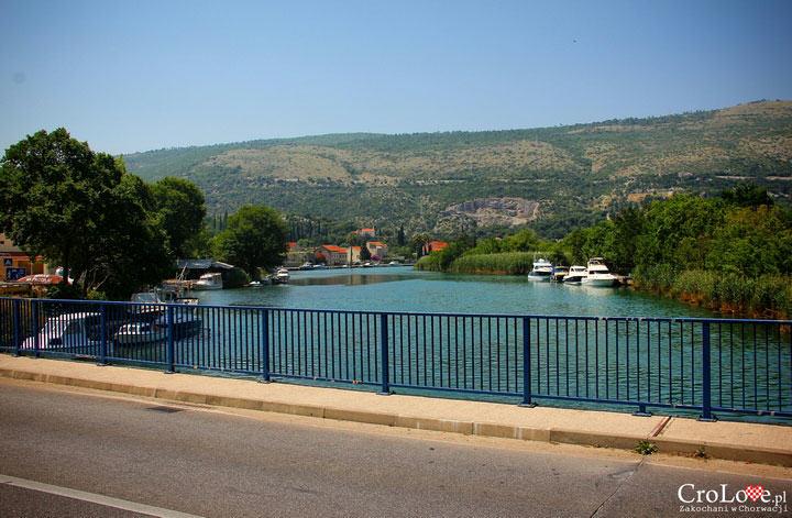 Ujście rzeki Ombla do Adriatyku