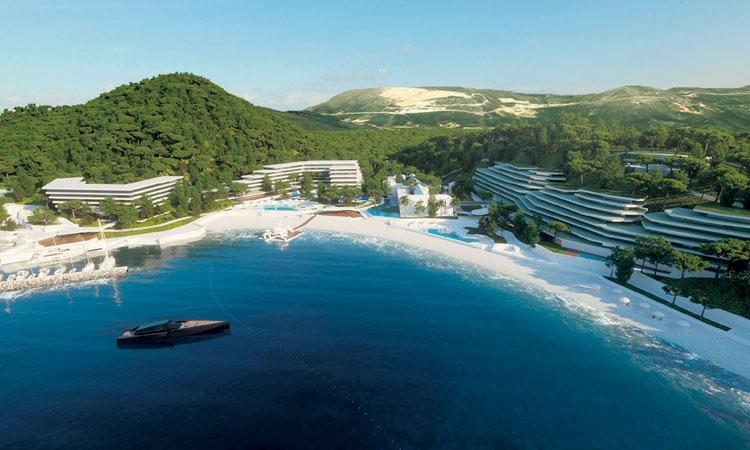 Wizualizacja nowego kompleksu hotelowego w Kupari