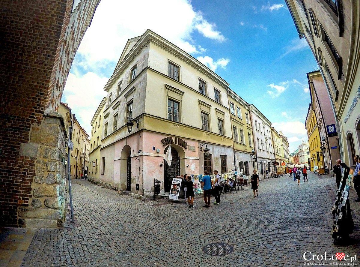 Kamienica Pod Czarnym Orłem na Starym Mieście w Lublinie