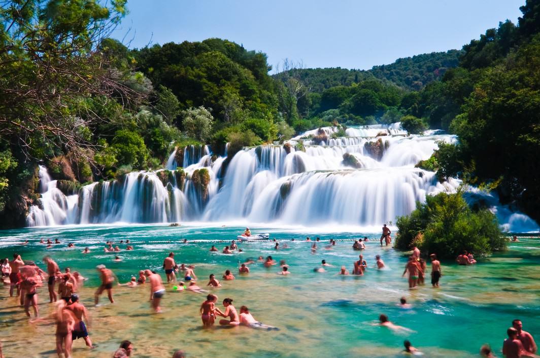 Wodospad Skradinski Buk - Park Narodowy Krka (fot. Sergiu Bacioiu)
