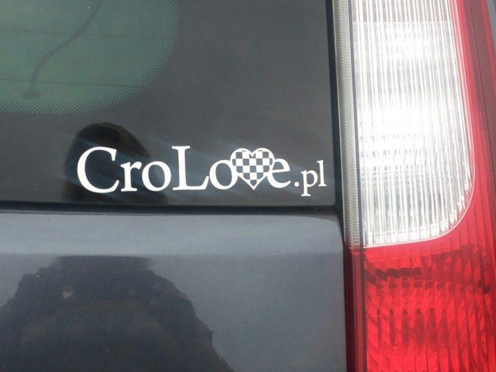 Naklejki na samochód CroLove
