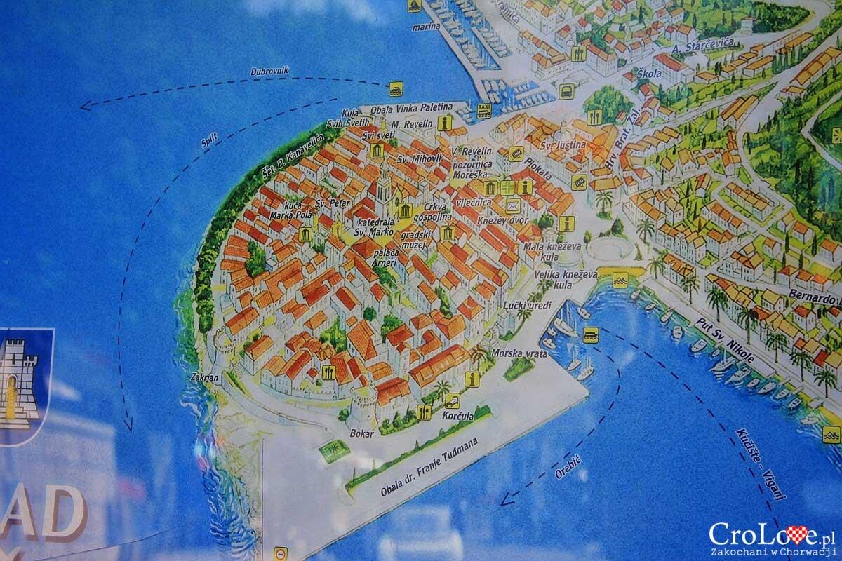 Plan Korčuli