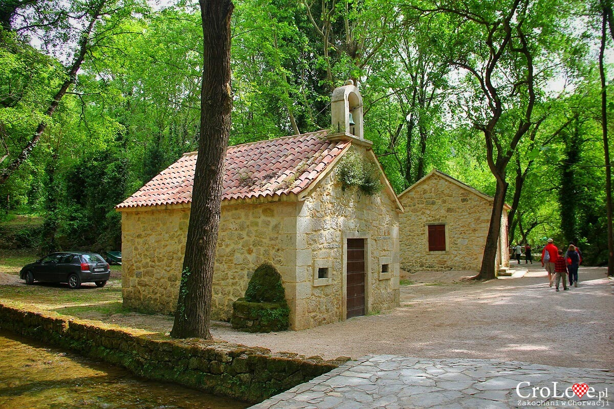 Kapliczka w Parku Narodowym Krka